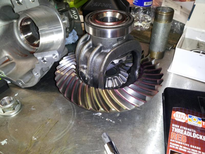 2006 silverado front differential noise