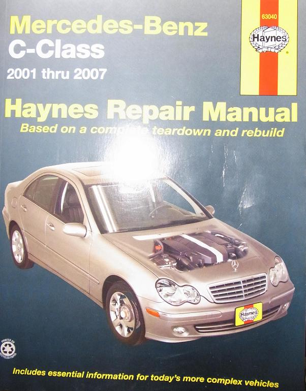 Good service manual mercedes benz forum for Mercedes benz c class owners manual