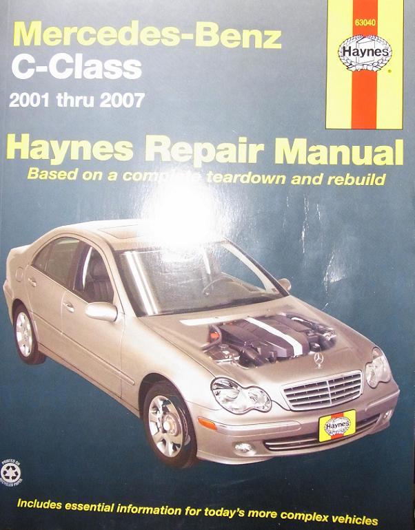 Class c mercedes-benz car manuals & literature | ebay.
