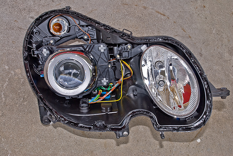 Adaptive Xenon Headlamp Projector Replacement Mercedes