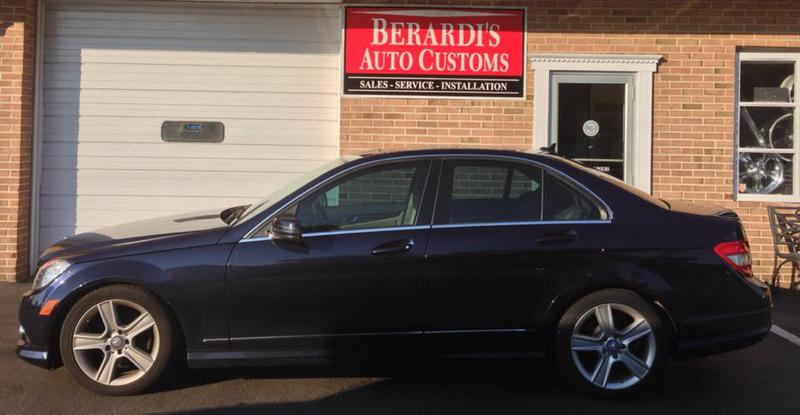 Mercedes West Chester >> Window tinting on a Mercedes C Class. Before/after with 35 ...