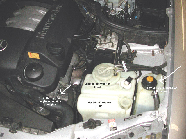 Mb E320 Yr 2000 W210 Stiff Steering Page 5 Mercedes