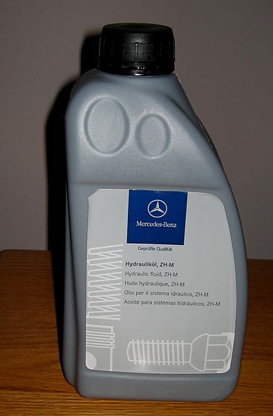 Soft top pump oil replenish mercedes benz forum for Mercedes benz hydraulic fluid
