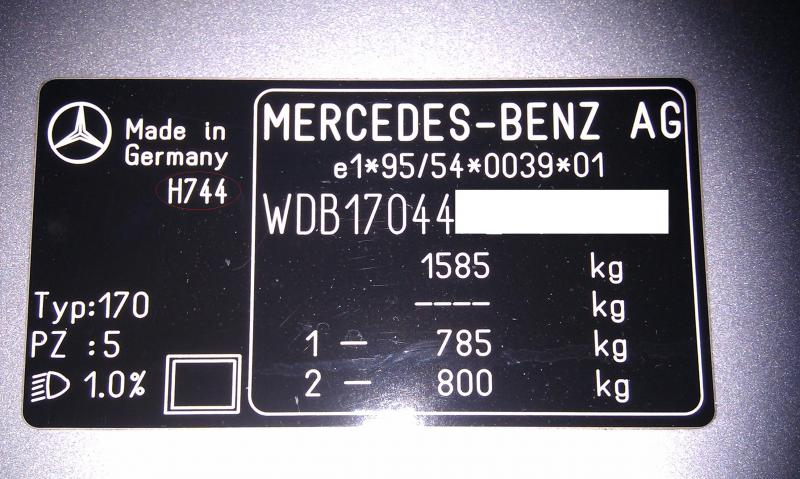 Where Do I Find Mercedes Benz Paint Code