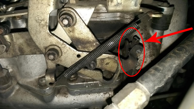190e 1 8 Loose Gas Pedal Loose Throttle Linkage