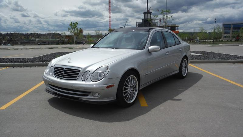 Would You Trade 2003 E500 Sport For 2003 C32 Amg