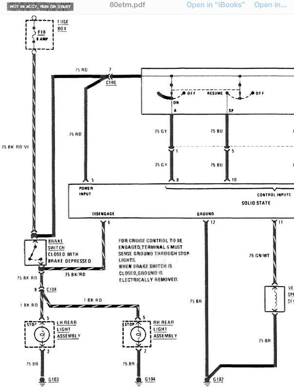 Mercedes benz cruise control diagram manual e books
