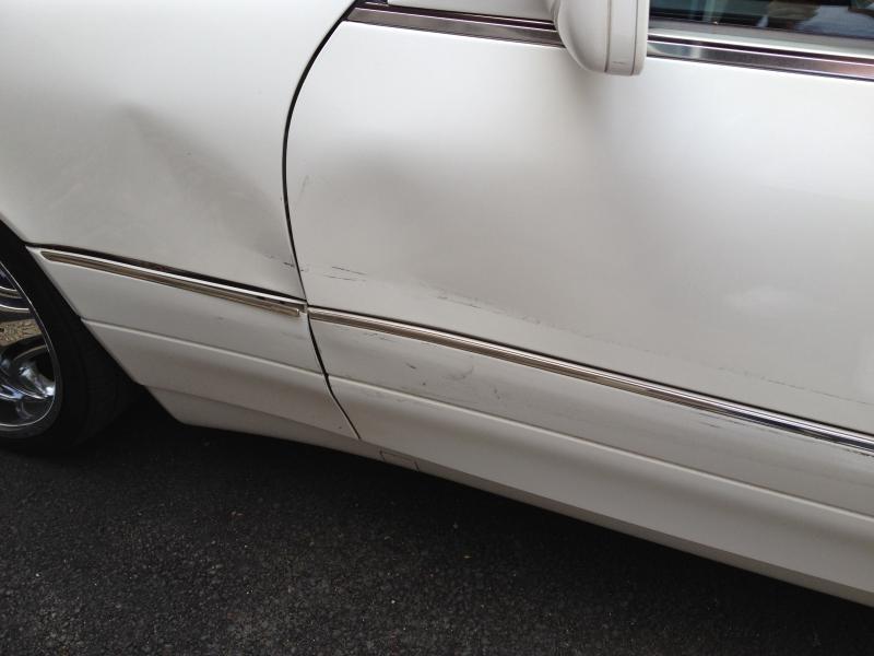 Click image for larger version Name image.jpg Views 488 Size 41.4 ... & Fender and door damage...bad day - Mercedes-Benz Forum