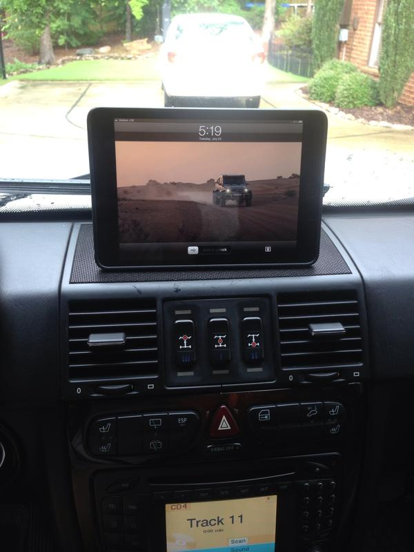 Ipad Mini Custom Mount Mercedes Benz Forum