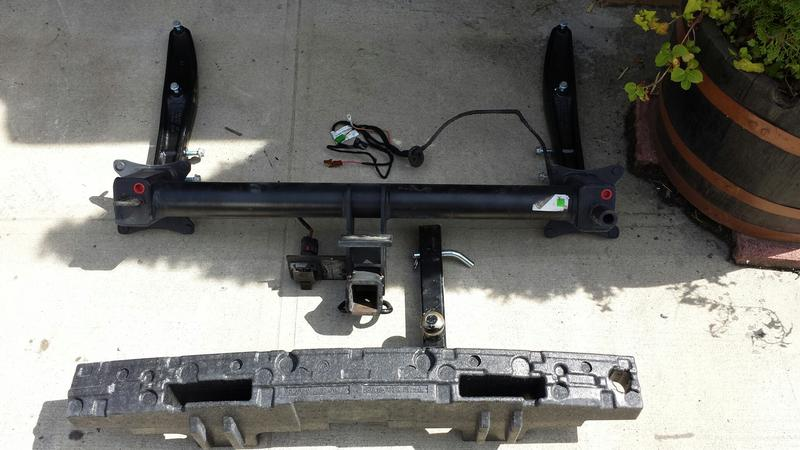 Fs nyc w164 x164 towing hitch assembly oem mbworld for Mercedes benz trailer hitch