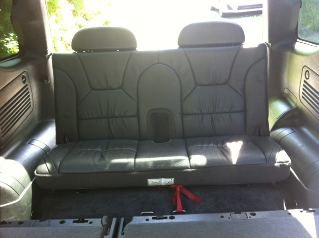 Cars With Third Row Seating >> Third row seating from Dodge Durango retrofit in ML350 ...