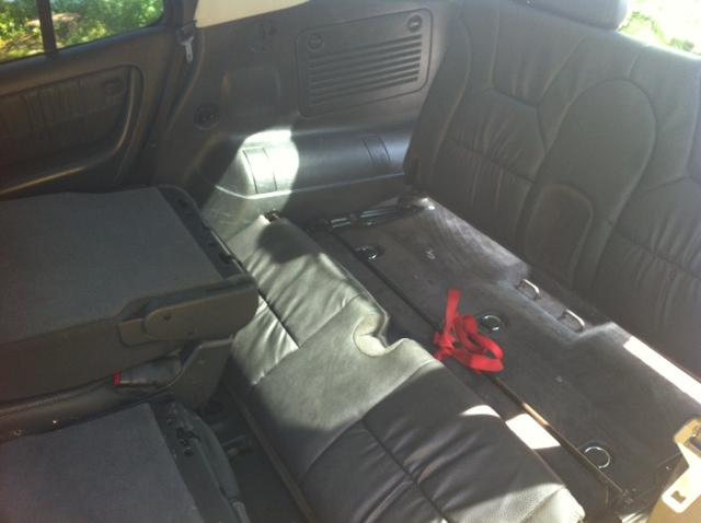 third row seating from dodge durango retrofit in ml350 mercedes benz - Mercedes G Wagon 3rd Row Seat