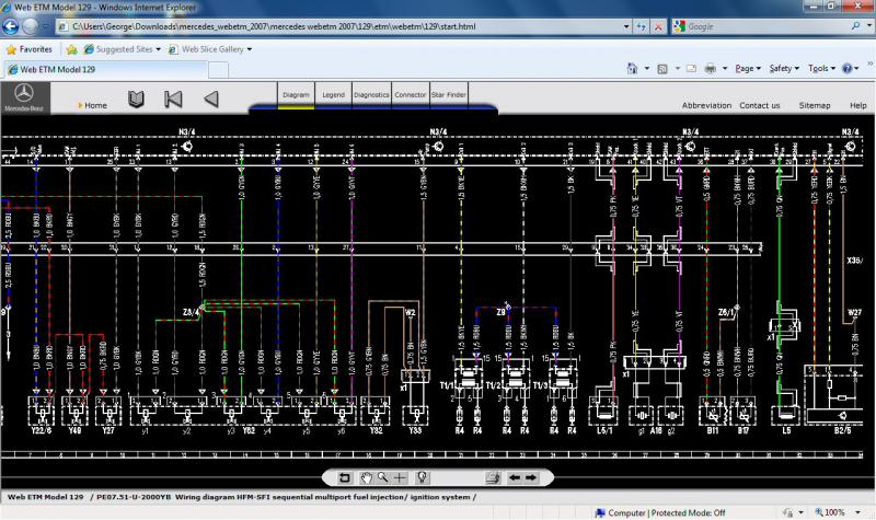 95 sl 320 wiring diagram mercedes benz forum rh benzworld org Mercedes Wiring Diagram Color Codes Mercedes 230 SLK Wiring Diagrams