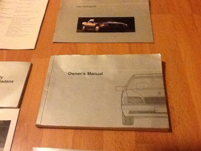 FS: 1993 S Class owners manual, folder, all inserts/guides for W140-imageuploadedbyag-free1389663180.229996.jpg