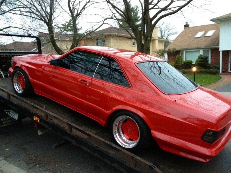 FS/FT: 1986 560 SEC widebody AMG kit *NICE* (Long Island, NY