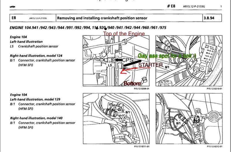 W210 M104 Question Mercedes Benz Forum - Wiring Diagram