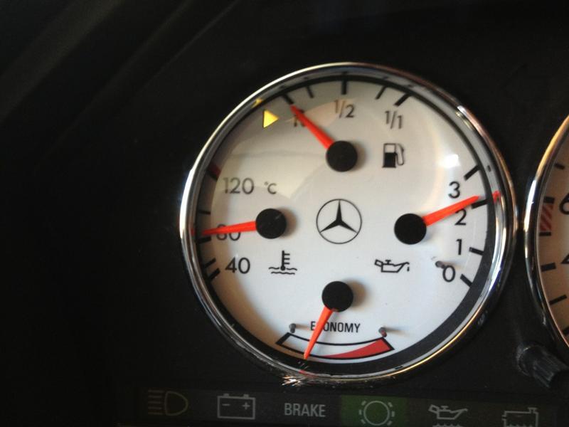 Where to buy orange needle instrument paint?? - Mercedes-Benz Forum