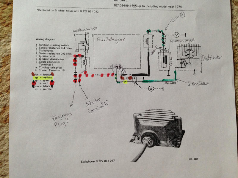OT  transistorized ignition troubleshooting     Mercedes
