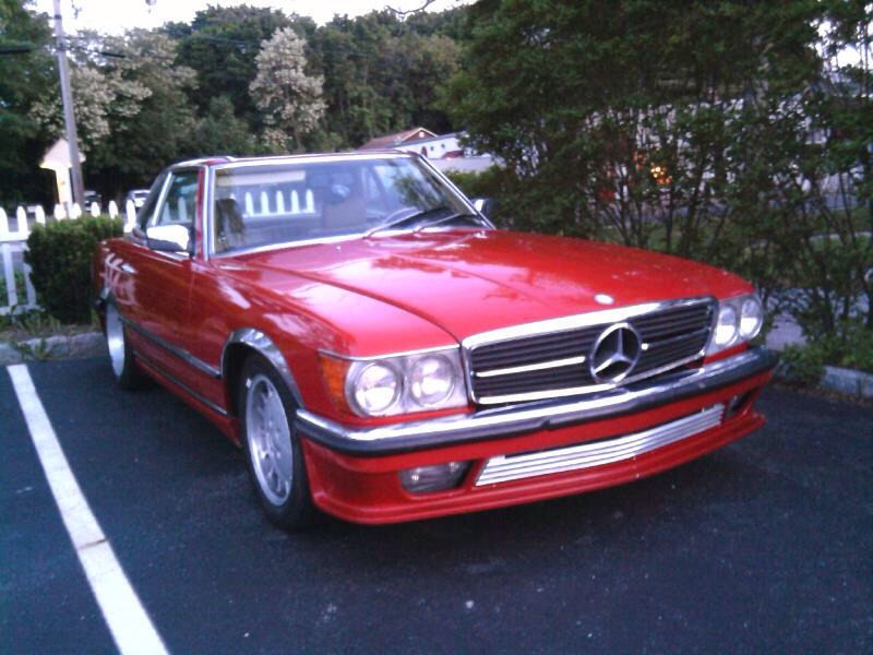 Red 1985 280sl 5-speed w Lorinser Kit | Mercedes-Benz Forum
