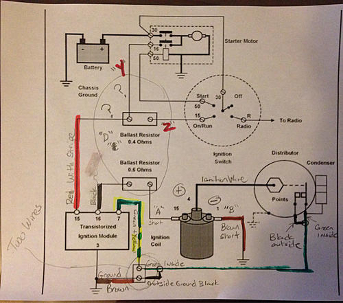 no spark 1972 350sl mercedes benz forum rh benzworld org Mopar Electronic Ignition Wiring Diagram Chevy Ignition Switch Wiring Diagram