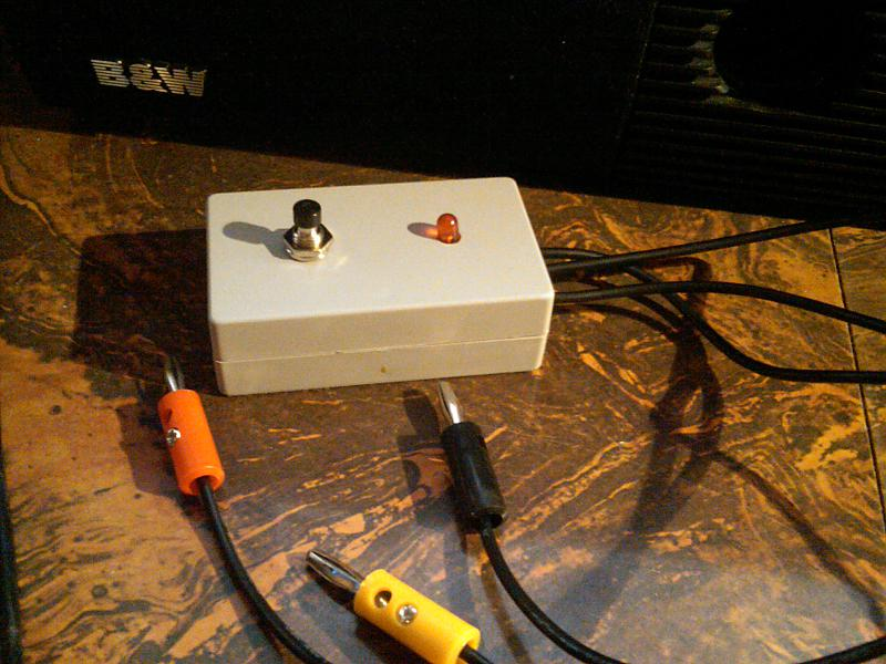 Homemade diagnostic code reader for MY90-95 - Mercedes ...