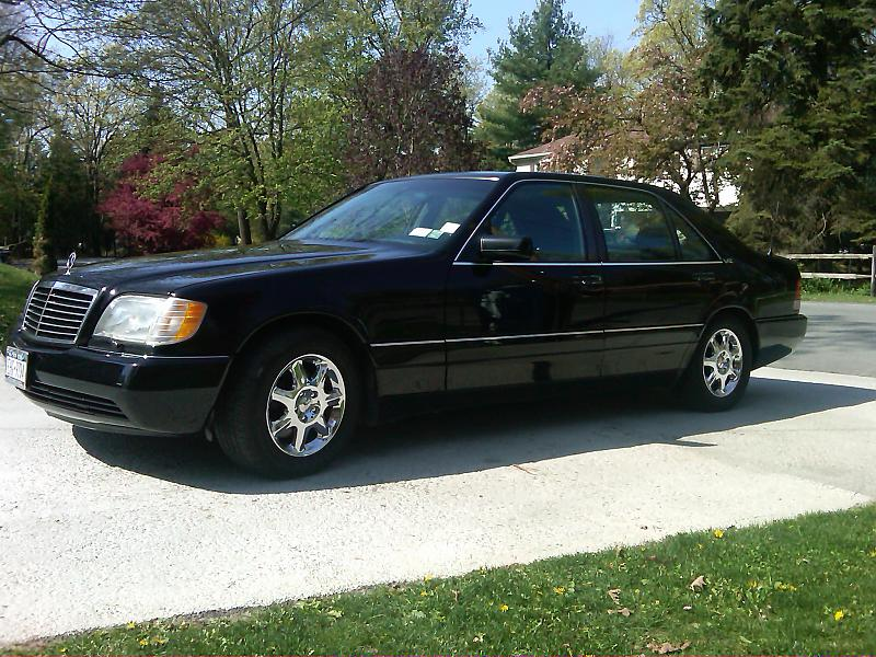 Sell used 1995 Mercedes-Benz S600 Base Coupe 2-Door 6.0L V12 100 ...