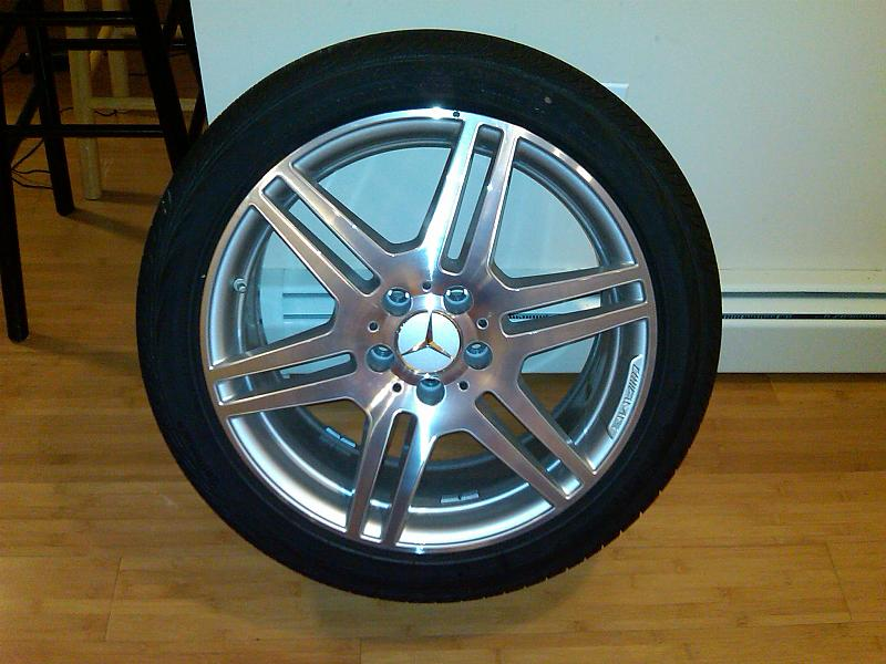 18 Inch Amg Rims And Tires 1600 Mercedes Benz Forum