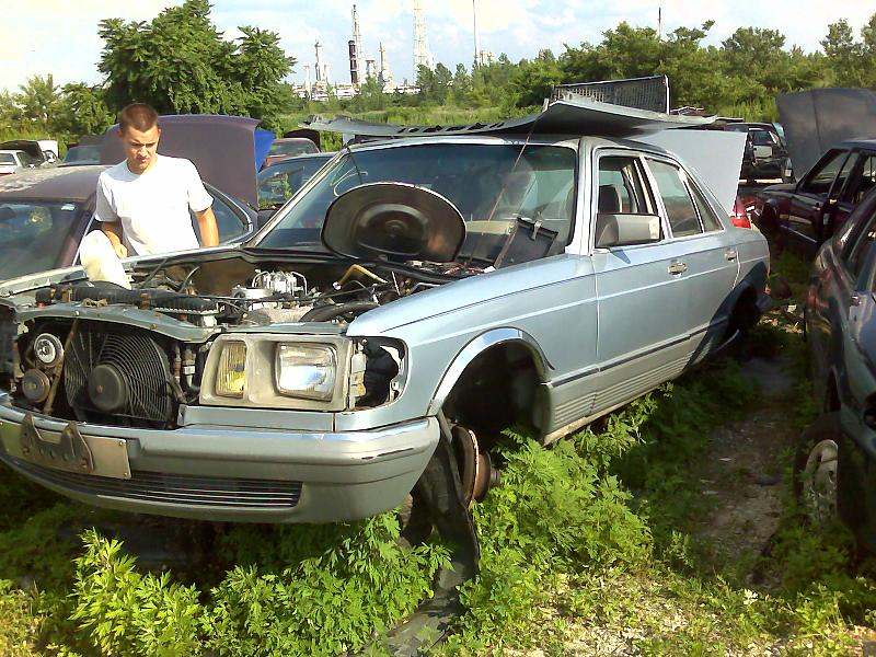 the about benz mercedes murilee on picture cars junkyard courtesy martin find truth of down