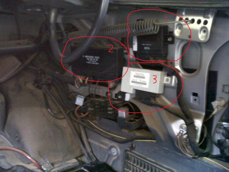 Help My 97 S320 Dont Have Anti Theft Module In The
