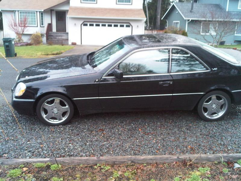 For sale 1995 mercedes s600 coupe rare mercedes benz forum for 1995 mercedes benz s600 coupe