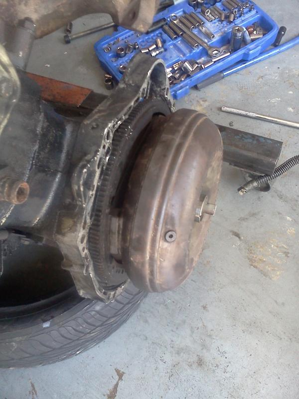 Any Way To Remove Torque Converter From A Seized Engine
