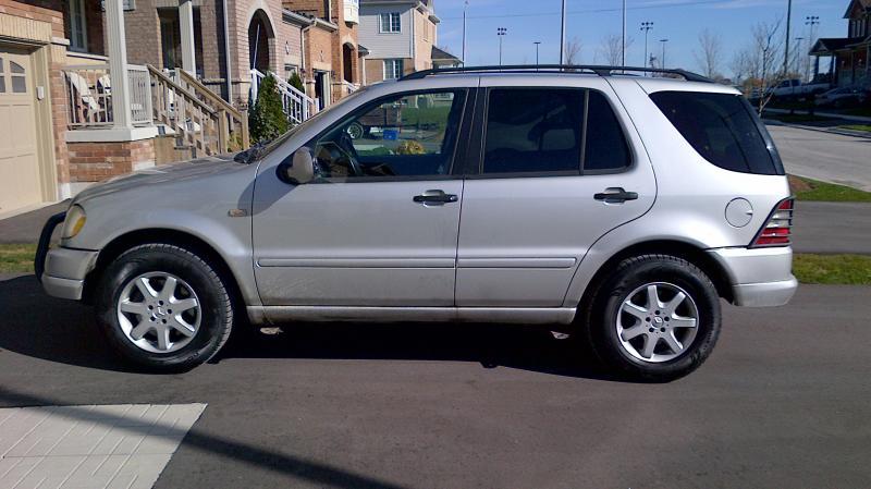 mercedes clk 320 tire size