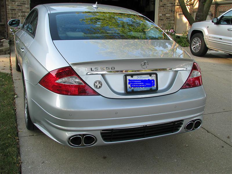 looking for the AMG body kit for a 2006 cls500 - Mercedes-Benz Forum