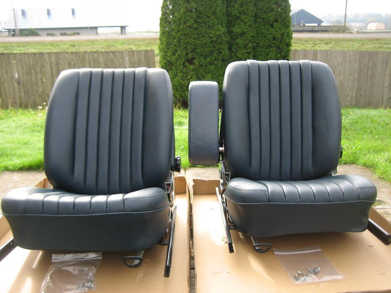 Mercedes W107 R107 C107 450slc Blue Remanufactured Seats 6