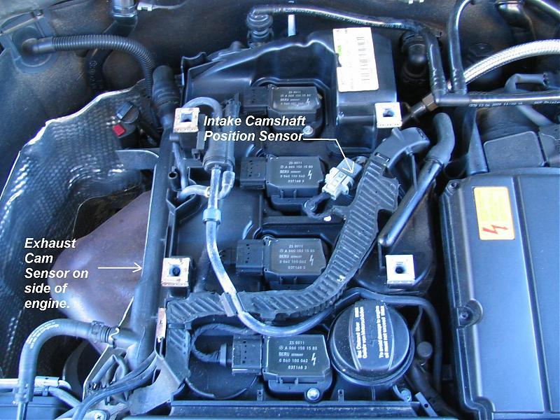 Cam sensor - Mercedes-Benz Forum