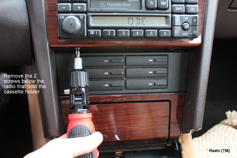W202 Stereo Removal