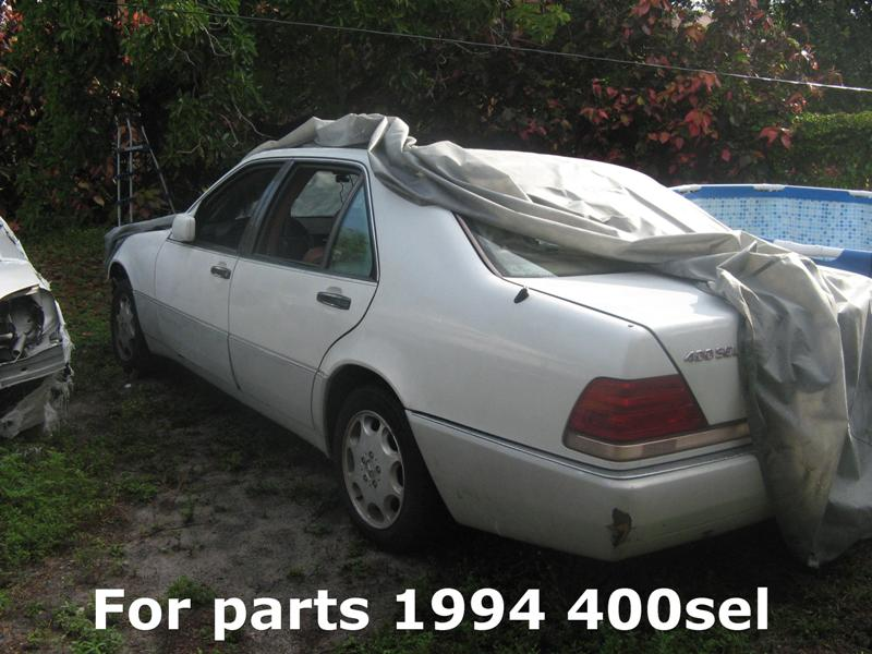 parting out 1994 mercedes benz