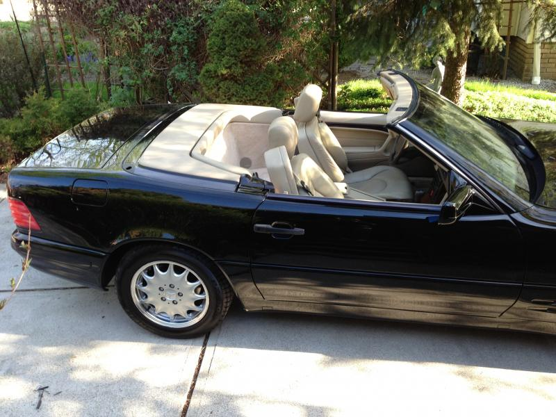 97 SL500 94K FOR SALE in Cleveland, OH - Mercedes-Benz Forum
