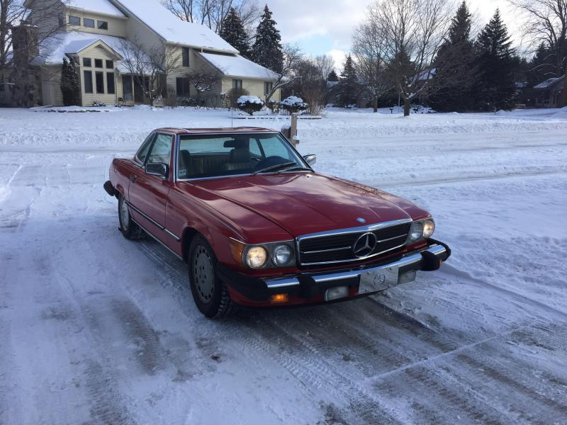Cold or not she 39 s going places mercedes benz forum for Mercedes benz okemos