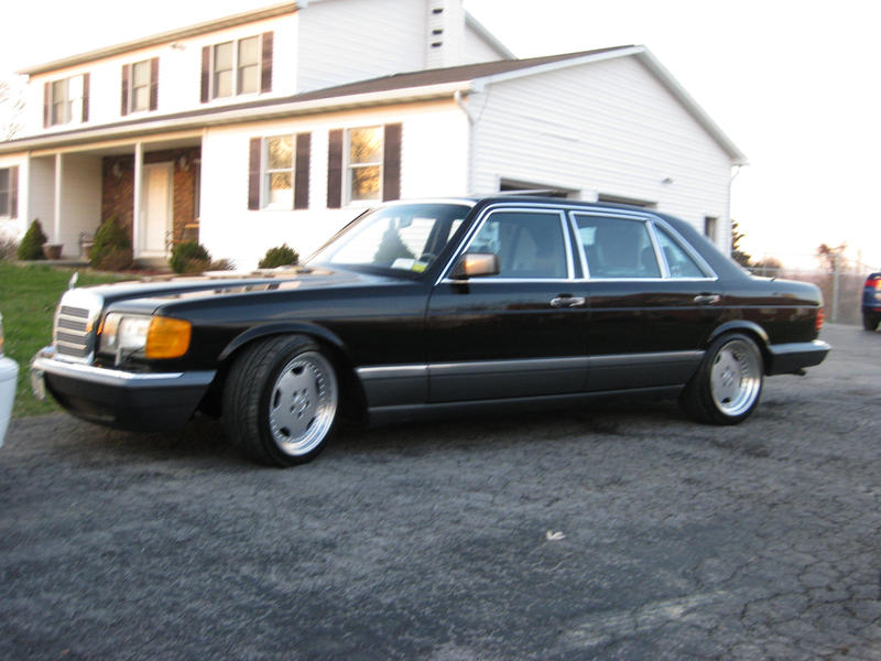 91 560sel possibly for sale mercedes benz forum for Mercedes benz 560sel for sale