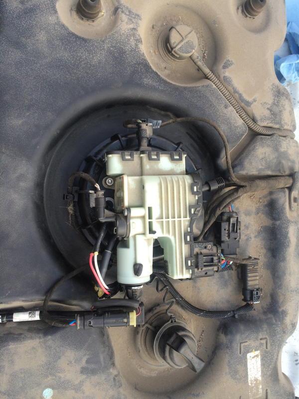 Mercedes E Fuel Pump Replacement