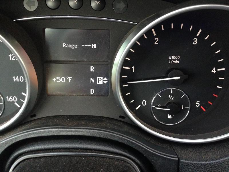 Fuel Gauge Fails Below Half - Mercedes-Benz Forum