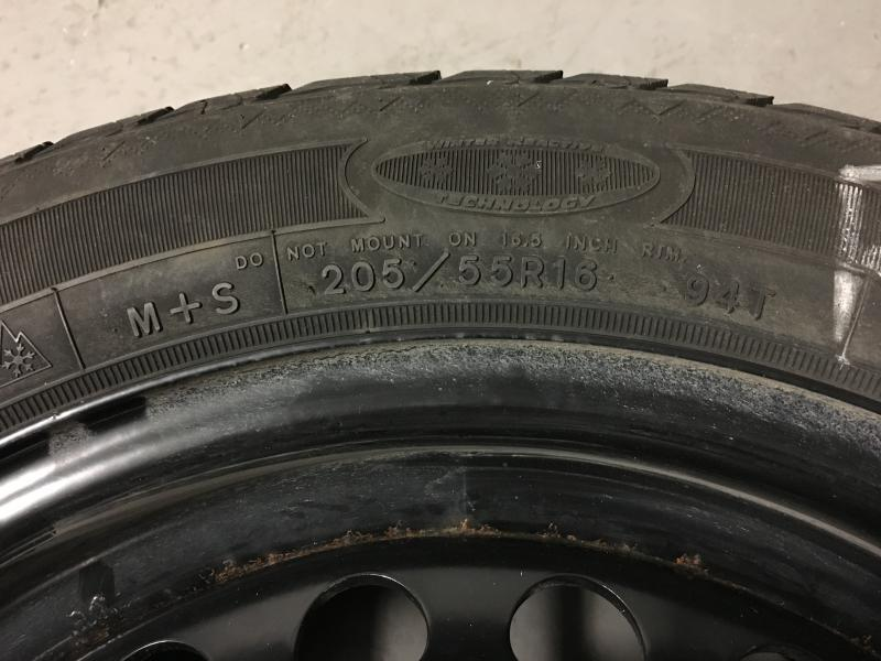 Fs winter tires 205 55 r16 set of four mercedes benz for Mercedes benz winter tires