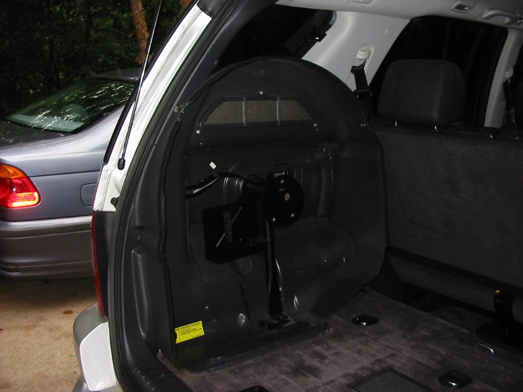 Ml55 Spare Tire Bracket Removal Mercedes Benz Forum
