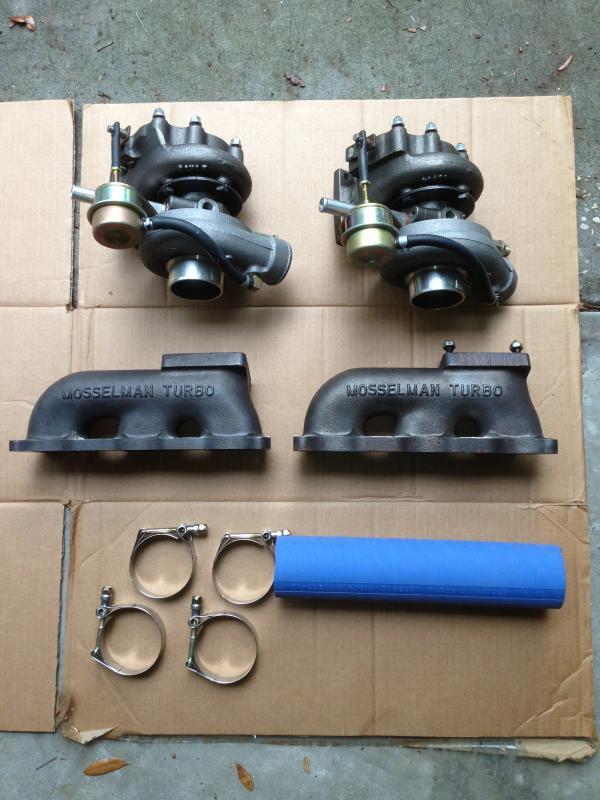 Turbo kits for mercedes