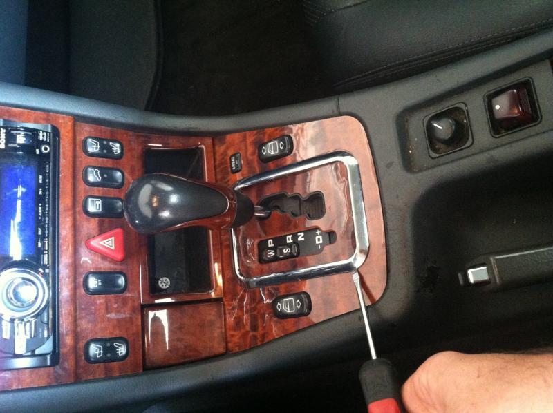 Slk320 Spilled Drink Stuck In Park Replaced Gear