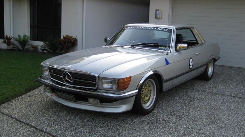 Slc Kit Car >> 450SLC Custom Suspension for Racetrack - with pics ...