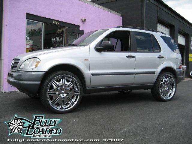 Big M Chrysler >> ML 320 On 24's Dub! - Mercedes-Benz Forum