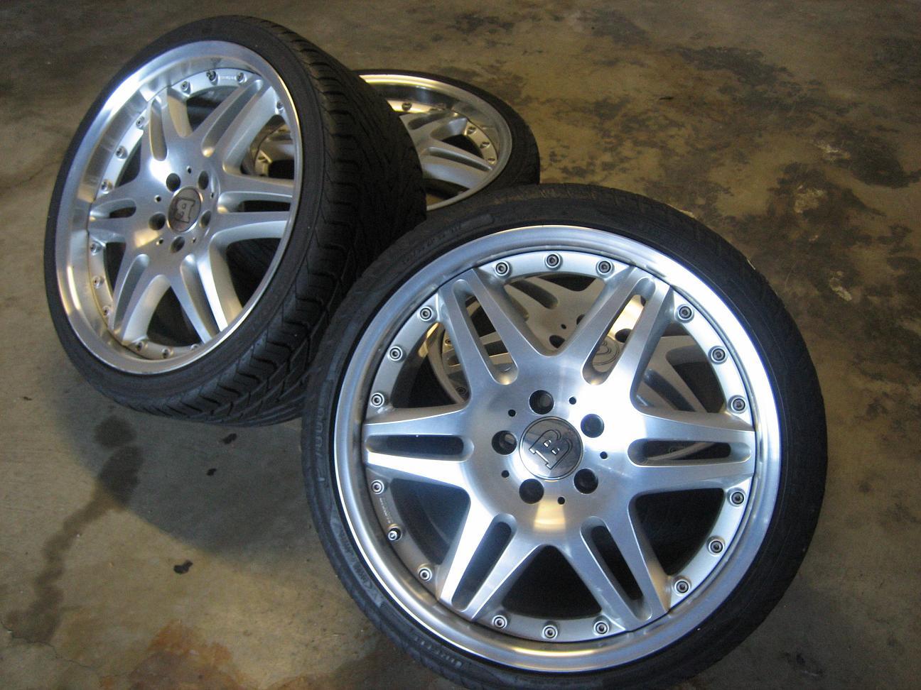 "San Francisco Mercedes >> FS: 19"" BRABUS Monoblock VI with tires (AUTHENTIC BRABUS ..."