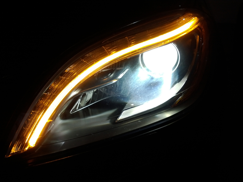 Ml350 Bi Xenon Headlight Option Page 2 Mercedes Benz Forum